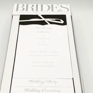 Printable Program Kit - Bride Wedding Collection - 40 counts